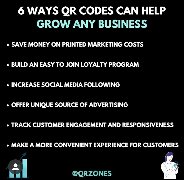6 Ways QR Codes Can Help Grow Any Business