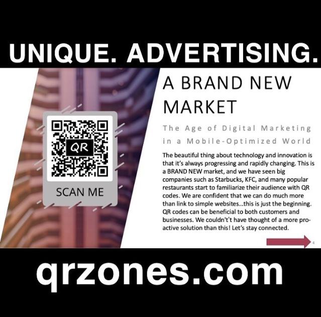QR Zones Unique Advertising