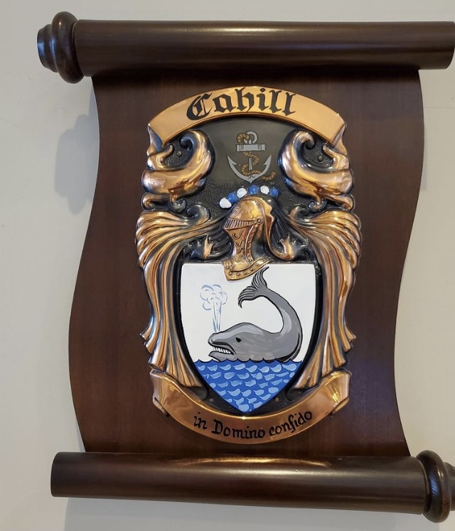 Cahill Family Coat of Arms