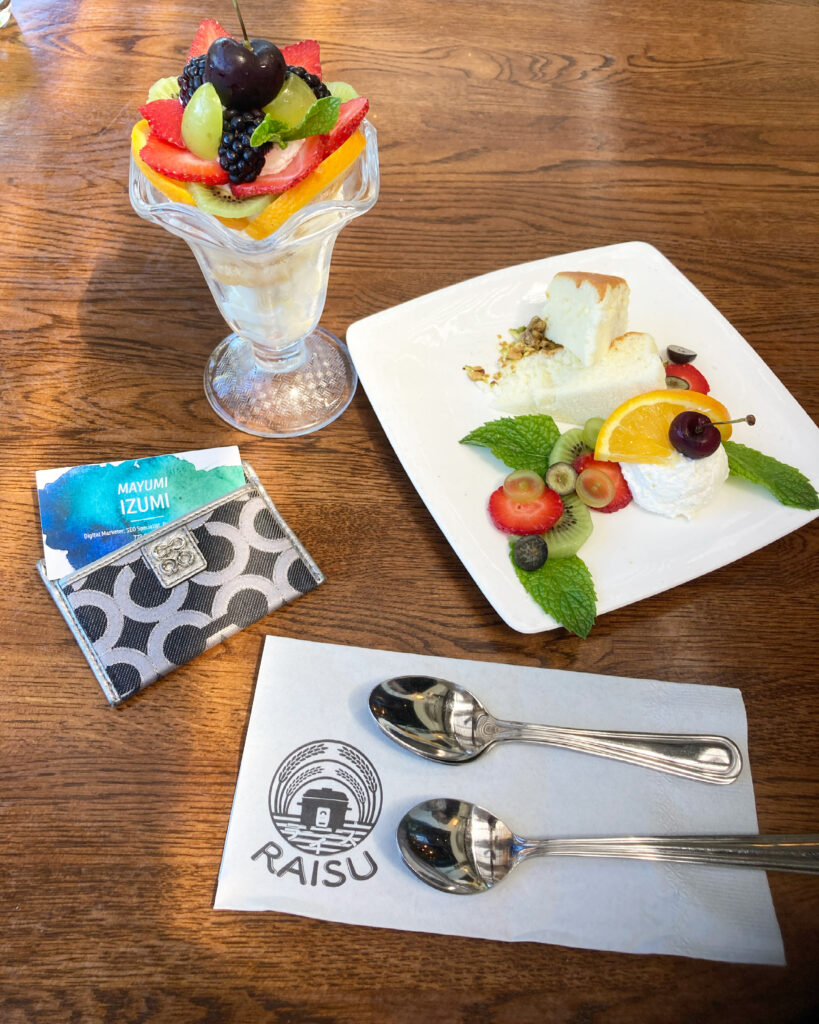 Raisu's Desserts